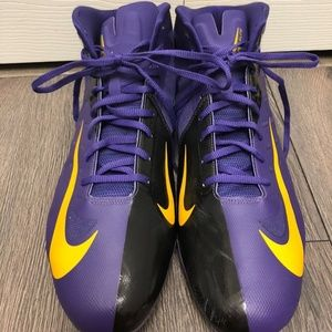 Nike Hyperfuse Vapor Elite High-Top Cleats Size 16